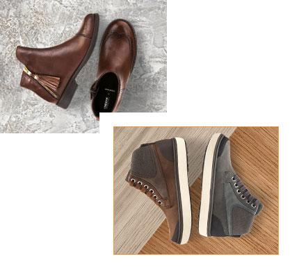 Impronta scarpe geox lugano