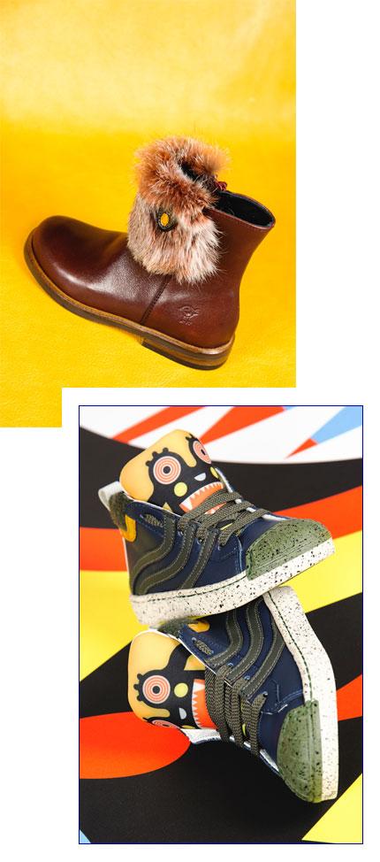 Impronta Herber scarpe bambino e bambina a Lugano