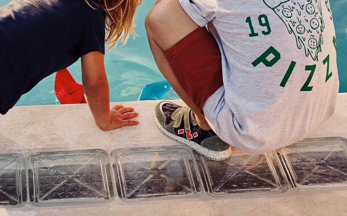 Impronta sneakers bambini