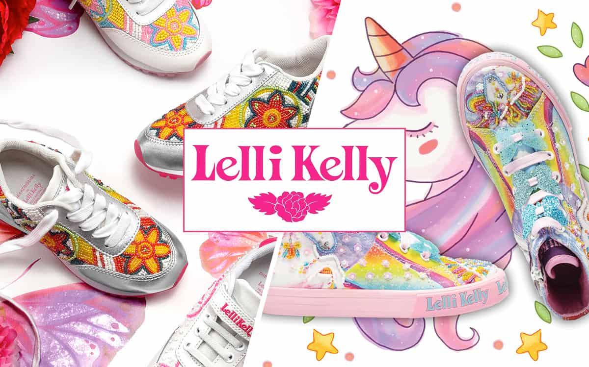 Scarpe per bambina Lelli Kelly unicorno e sneakerissima a Lugano