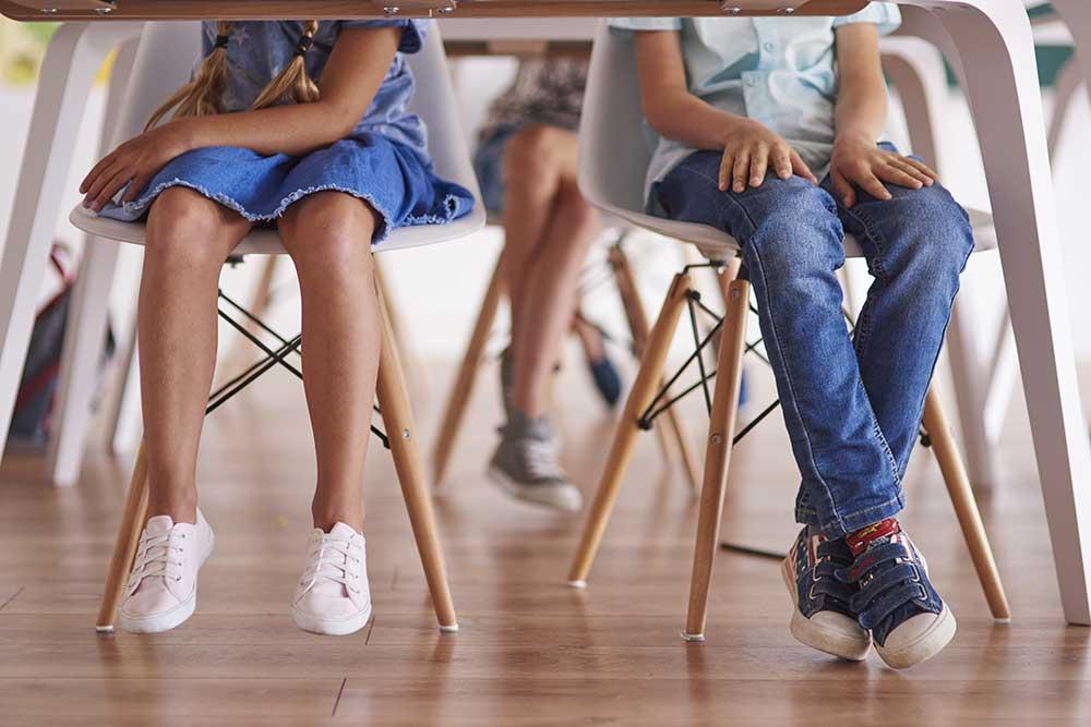 guida scarpe bambini